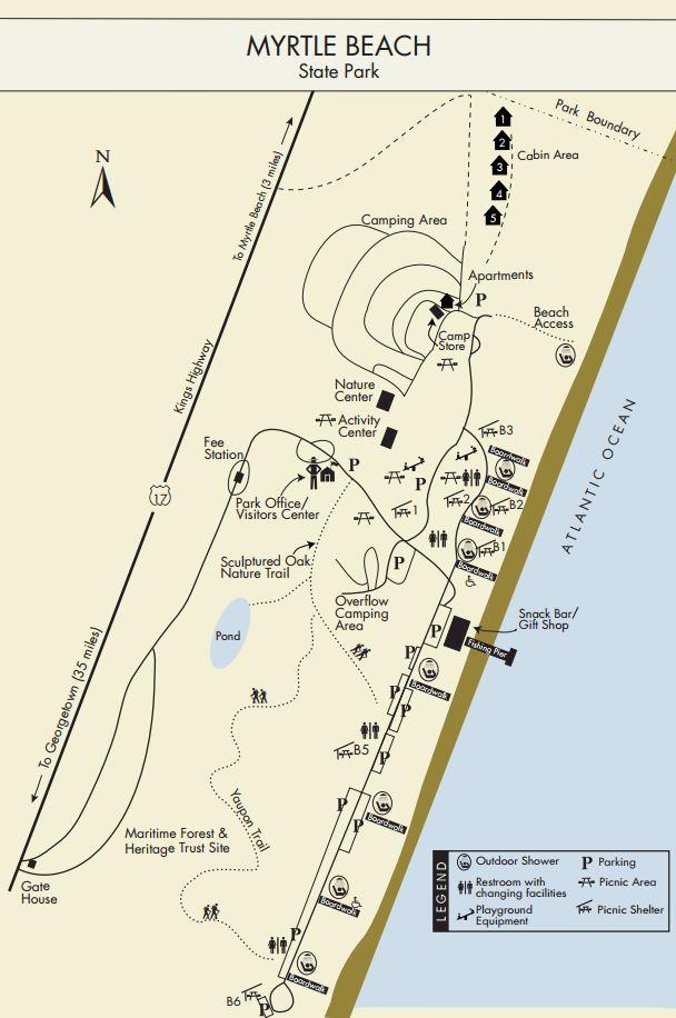 Myrtle Beach Trails South Carolina Parks Official Site