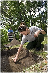 An Archaeological Dig at Colonial Dorchester