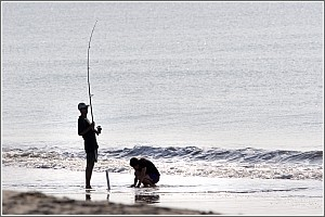 Surf Fishing at Edisto Beach State Park