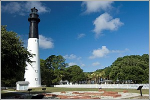 The Hunting Island Lighthouse