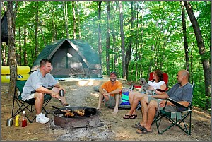 Tent Camping at Keowee-Toxaway