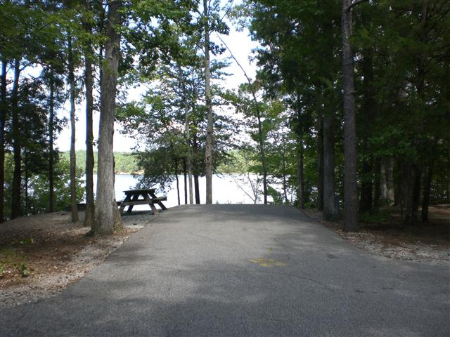 Camping At Lake Wateree State Park
