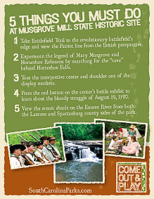 Top 5 Things to do at Musgrove Mill
