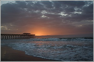 Sunrise at Myrtle Beach State Park