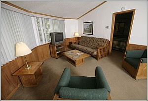 Santee Cabin Living Room