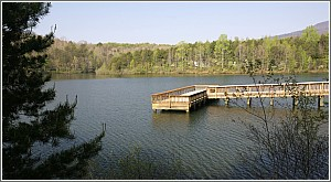 Fishing Pier on Lake Oolenoy