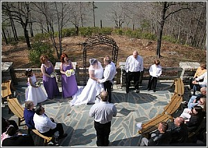 Wedding at Table Rock Lodge